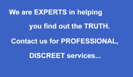 Professional and Discreet - Stoke detectives